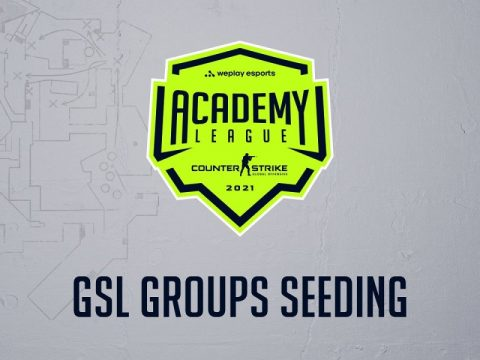 GSL group seeding for WePlay Academy League Season 2 is defined